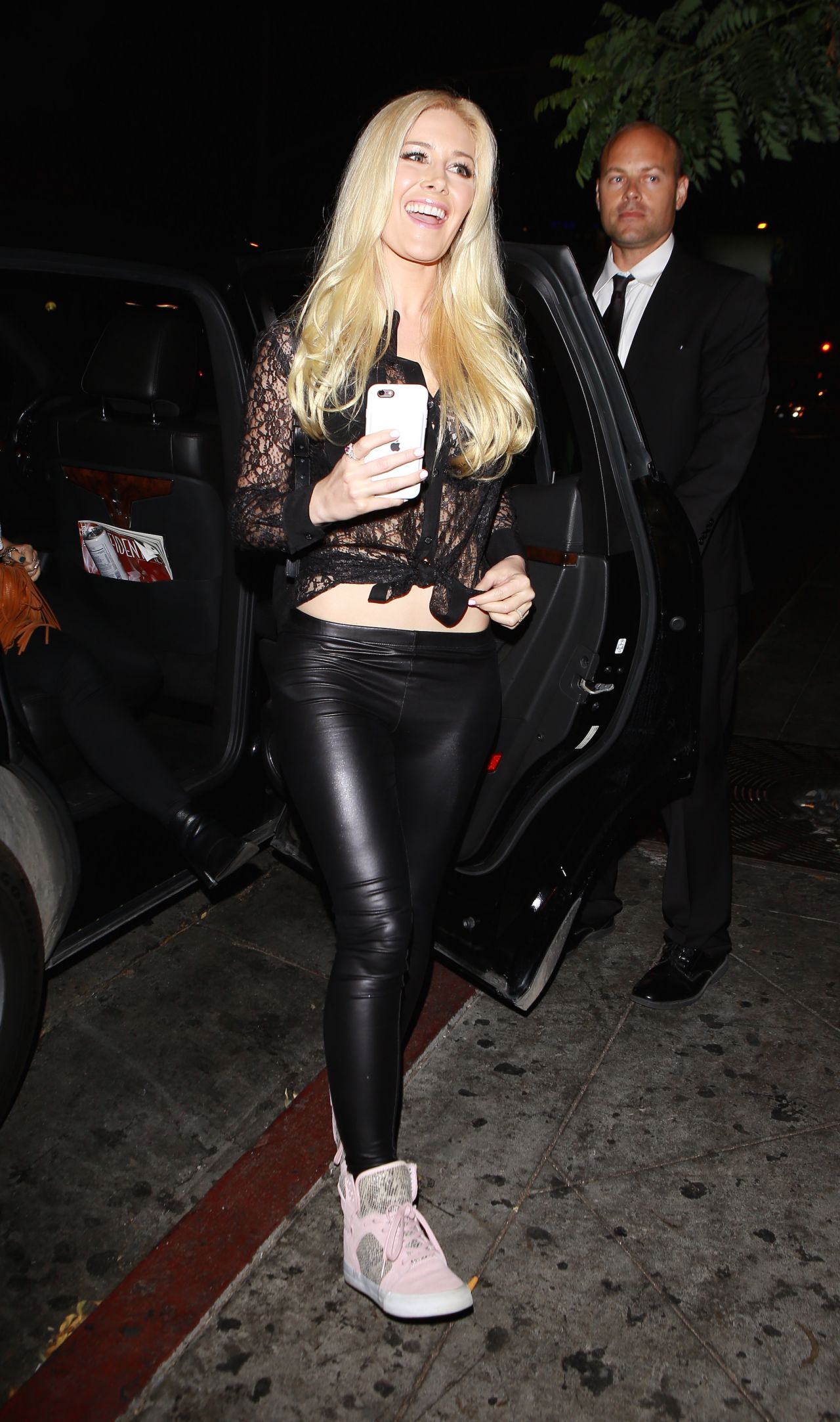 Heidi Montag Night Out At The Abbey In West Hollywood 8