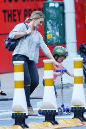 Hilary Duff - Heads to Dinner at La Esquina Restaurant in New York City 8/16/2016