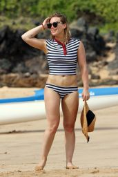 Hilary Duff in Bikini at a Beach in Malibu 8/4/2016