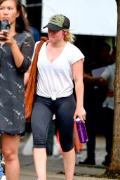Hilary Duff - Leaving the Gym in NYC 8/18/2016