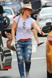 Hilary Duff - Out in New York City 8/20/2016