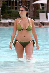 Imogen Thomas in Bikini at a Pool in Las Vegas 8/30/2016