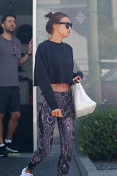 Irina Shayk at the Gym for a Workout - Los Angeles 8/24/2016