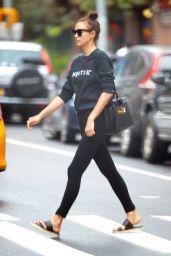Irina Shayk Street Style - NYC, July 2016