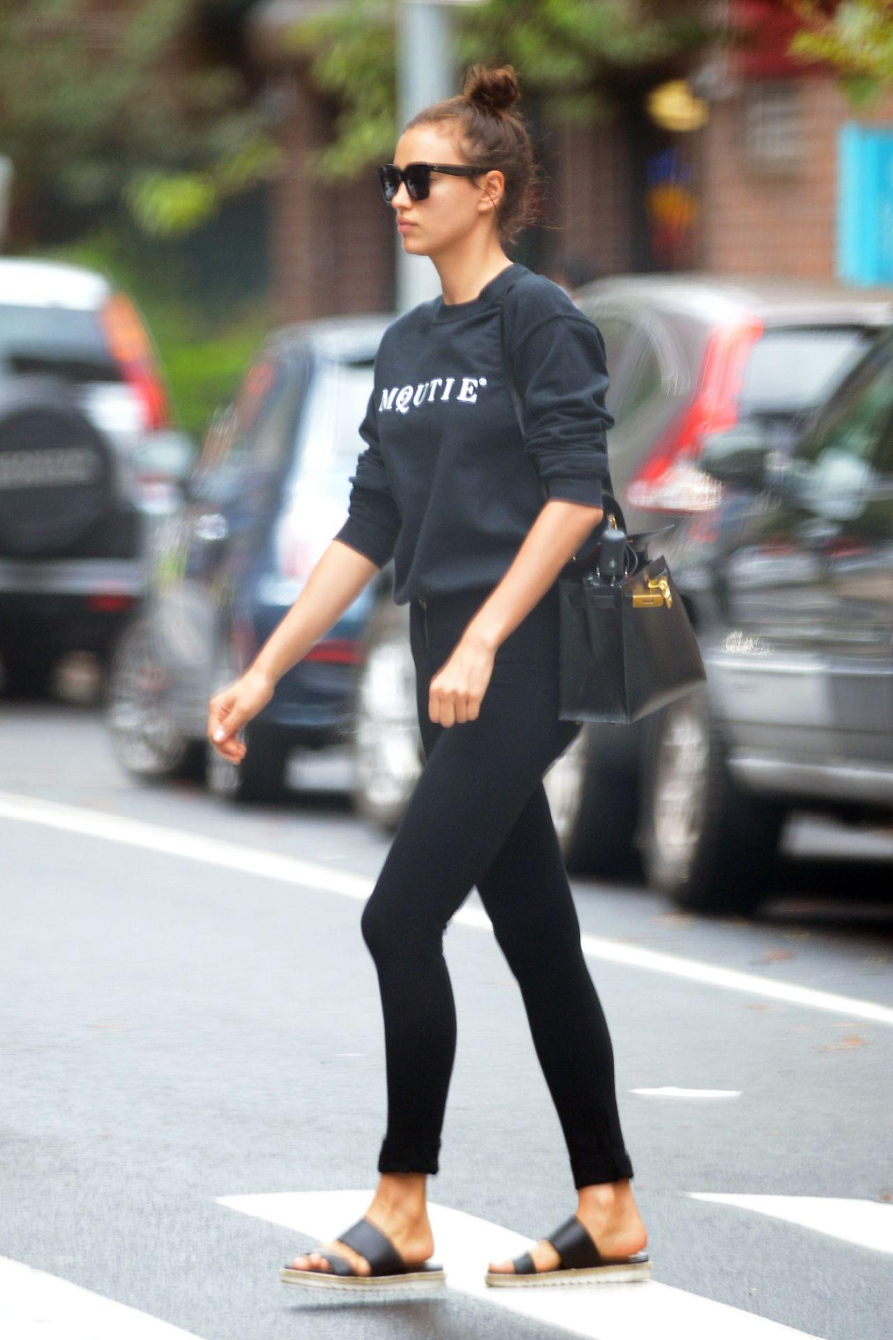 Irina Shayk Street Style Nyc July 2016