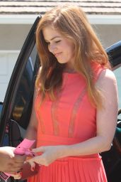 Isla Fisher – InStyle Jennifer Klein's 2017 Annual Day of Indulgence Party in LA 8/14/2016