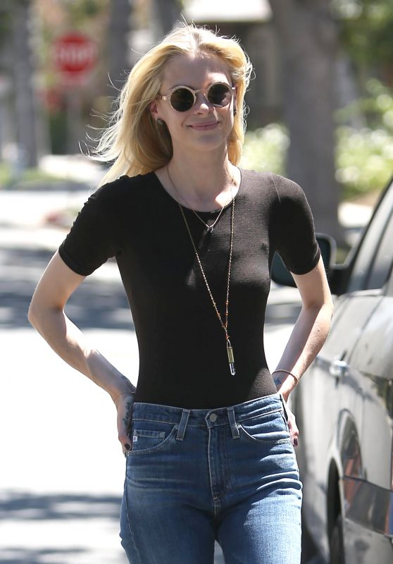 Jaime King - Out in Beverly Hills 8/15/2016