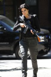 Jaimie Alexander on the Set of