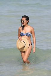 Jamie Chung in Bikini on the Beach in Miami, FL 8/5/2016