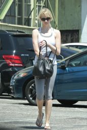 January Jones - Out in West Hollywood 8/1/2016