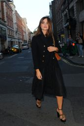 Jenna-Louise Coleman - My Burberry Black Launch Event in London 8/22/2016
