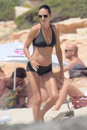 Jennifer Connelly Bikini Candids - Formentera 08/18/2016
