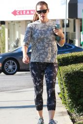 Jennifer Garner at a Gym in Brentwood, August 2016