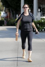 Jennifer Garner Gym Style - Los Angeles 8/23/2016