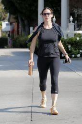 Jennifer Garner Gym Style - Los Angeles 8/23/2016