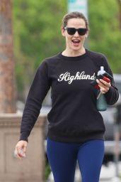 Jennifer Garner in Spandex - Leaving the Gym in LA 8/9/2016