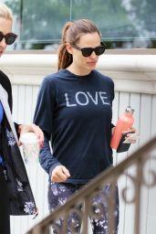Jennifer Garner - Leaving a Gym in Brentwood 8/6/2016