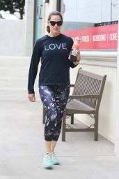Jennifer Garner - Leaving a Gym in Brentwood 8/6/2016