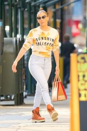 Jennifer Lopez Urban Style - Out in NYC, August 2016