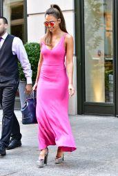 Jessica Alba Classy Fashion -Leaving Her Hotel in NYC 8/25/2016