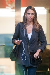 Jessica Alba - Leaving a Meeting in Los Angeles 8/8/2016
