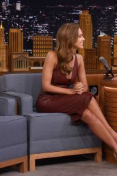 Jessica Alba - The Tonight Show Starring Jimmy Fallon in NYC 8/25/2016