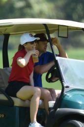 Jessica Biel - Golfing in Los Angeles, August 2016