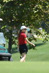 Jessica Biel - Golfing in Los Angeles, August 2016