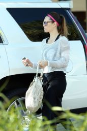 Jessica Biel - Out in Beverly Hills 8/22/2016