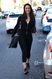 Jessica Lowndes Grabs Juice at Kreation in Beverly Hills - 8/2/2016
