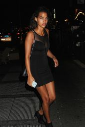 Jessica Strother at Club Up and Down in in New York City 8/28/2016