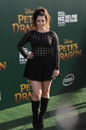 Jillian Rose Reed – 'Pete's Dragon' Premiere in Hollywood 8/8/2016