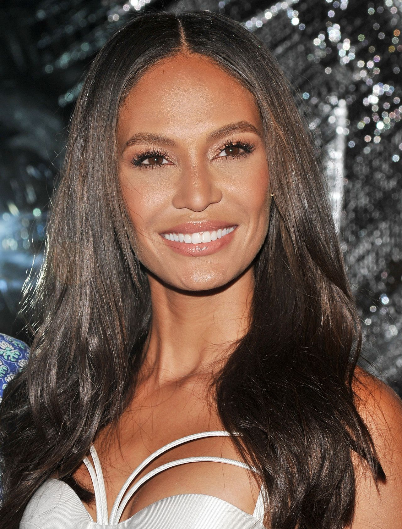Joan Smalls At Topshop Fashion Show At London Fashion Week: Opening Of W Dubai At The Glasshouses In New