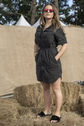 Joanna Jojo Levesque at V Festival at Weston Park in Stafford, UK 8/20/2016