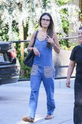 Jordana Brewster at a Hair Salon in Beverly Hills 8/17/2016