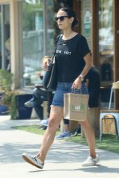 Jordana Brewster - Leaving Kreation in Brentwood, August 2016