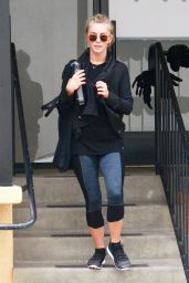 Julianne Hough - Leaving a Gym in Studio City 8/9/2016
