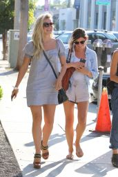 Julianne Hough - Leaving Zinque Cafe in Beverly Hills 8/10/2016
