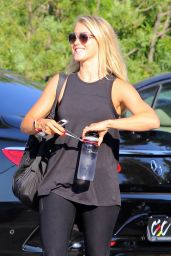 Julianne Hough Street Style - Arriving at Just Dance 8/23/2016