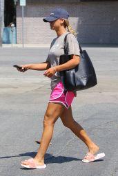 Kaley Cuoco in Shorts - Studio City 8/28/2016