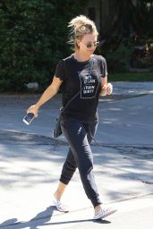 Kaley Cuoco Street Style - Out in LA 8/16/2016