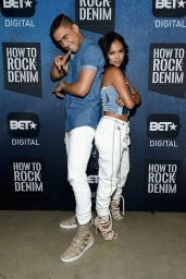Karrueche Tran - BET How To Rock: Denim in New York 8/10/2016