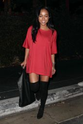Karrueche Tran Night Out Style - Out in Los Angeles 8/20/2016