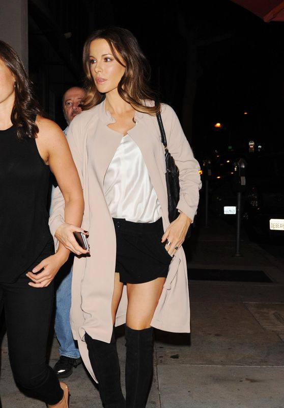Kate Beckinsale Night Out Style - Craig