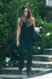 Kate Beckinsale - Outside Her Home in Los Angeles 8/29/2016