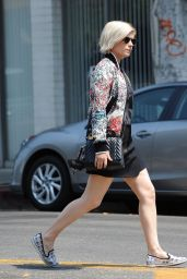 Kate Mara Urban Style - Out in LA 8/25/2016