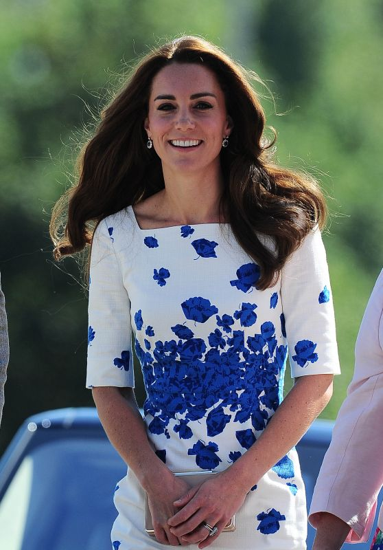 Kate Middleton - Luton, England 8/24/2016