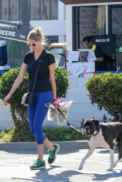 Kate Upton - Walking Her Dog in Beverly Hills 8/12/2016