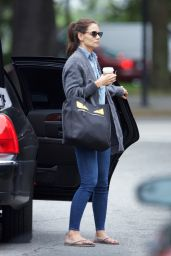 Katie Holmes - Arrives to Her Hotel Savannah, GA 7/31/2016