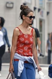 Katie Holmes - Out in NYC 8/18/2016
